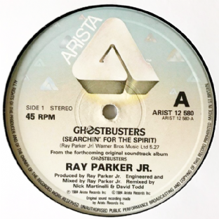 "Ray Parker Jr - Ghostbusters (12"") (G++/NM)"
